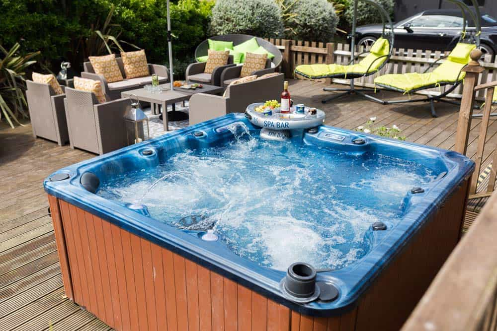 Beach House Hove Hot Tub