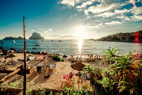 Cala d'Hort Beach Ibiza