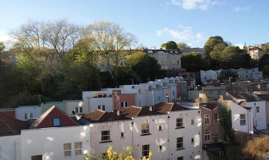 Hillside view Bristol Hen House